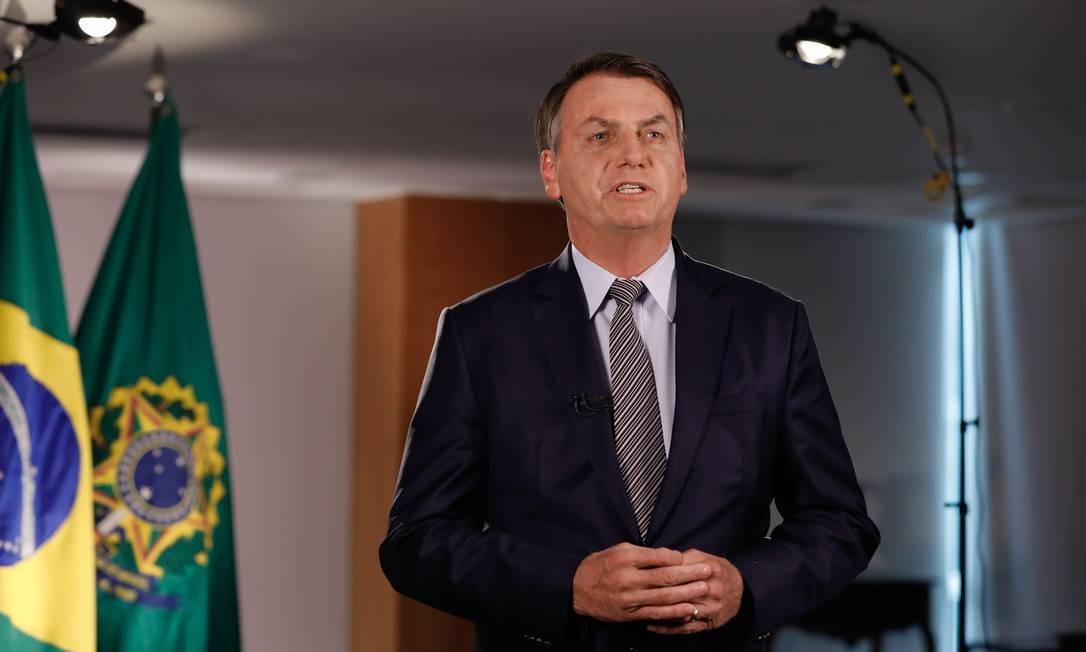 Bolsonaro grava novo pronunciamento em rádio e TV sobre ...