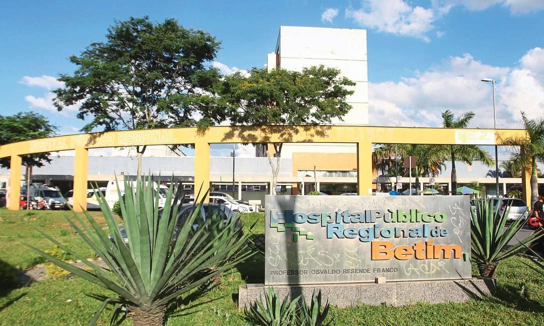 Hospital Público Regional de Betim, Minas Gerais Foto: Reprodução