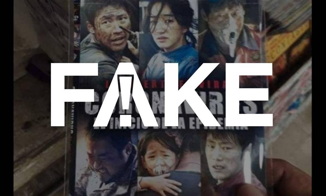 É #FAKE que filme de 2013 chamado 'Coronavírus' previu a pandemia atual Foto: Reprodução