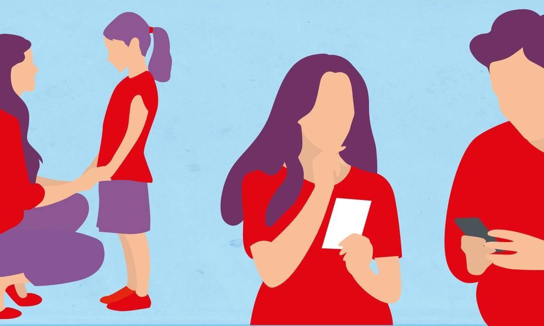 Dicas para manter a saúde mental no confinamento Foto: Arte O Globo