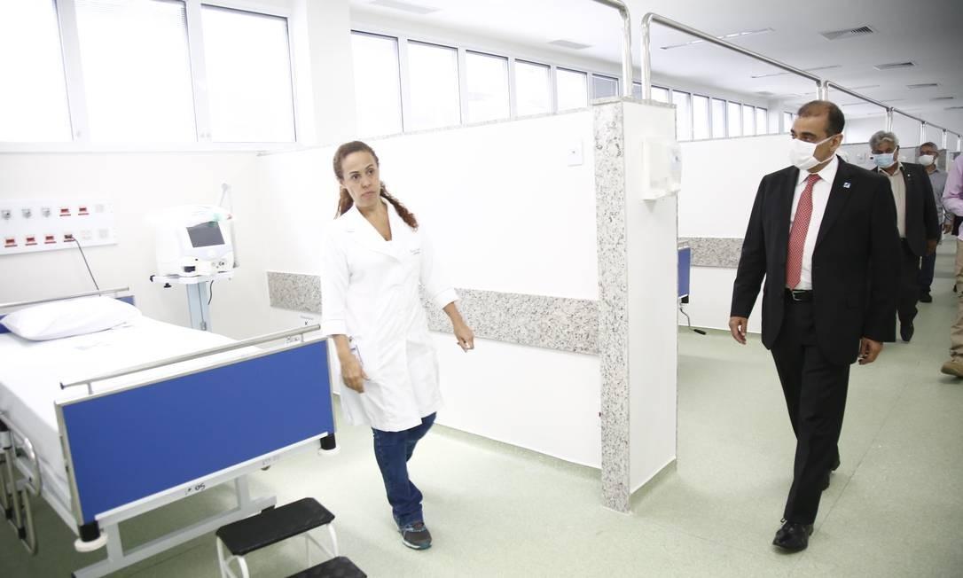 Hospital Zilda Arns, em Volta Redonda, que ganhou novos leitos Foto: Divulgação