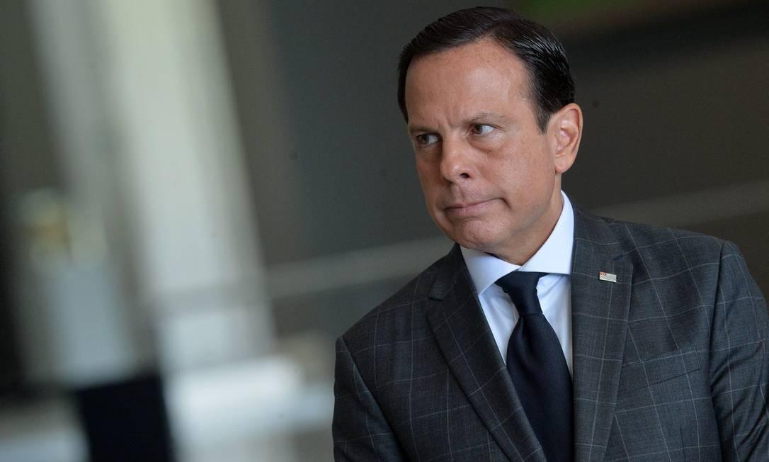 O governador de São Paulo, João Doria Jr. (PSDB) Foto: Francisco Cepeda/Agência O Globo