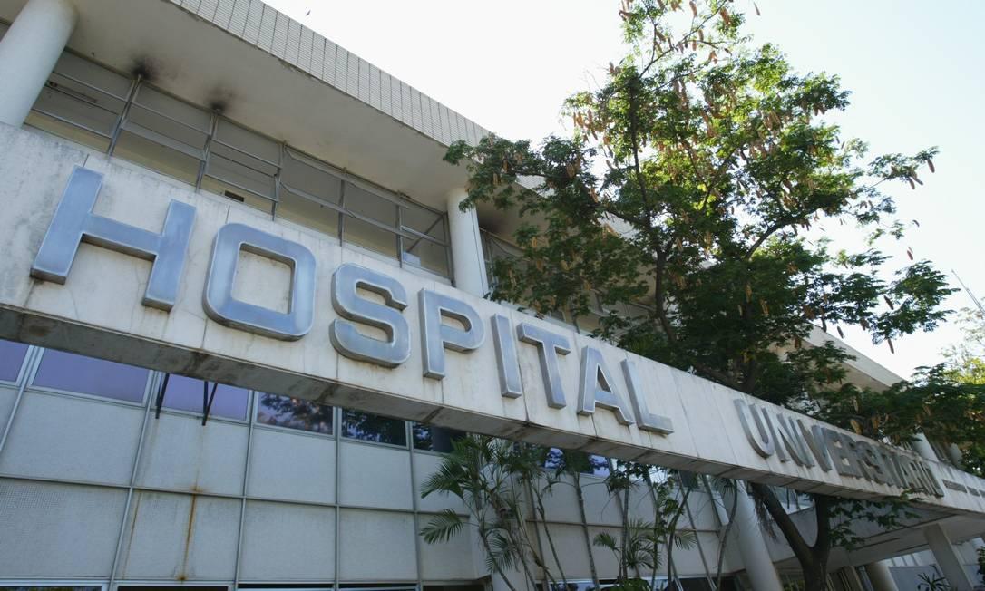 O Hospital do Fundão, que vai atender casos de coronavírus encaminhados pela Secretaria de Estado de Saúde Foto: Ana Branco / O Globo