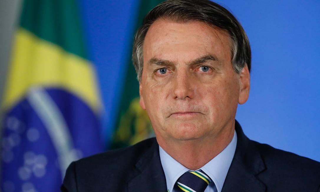 Em pronunciamento na TV, Bolsonaro pede reabertura de comércio e escolas e fim do 'confinamento' Foto: Isac Nobrega / Divulgação