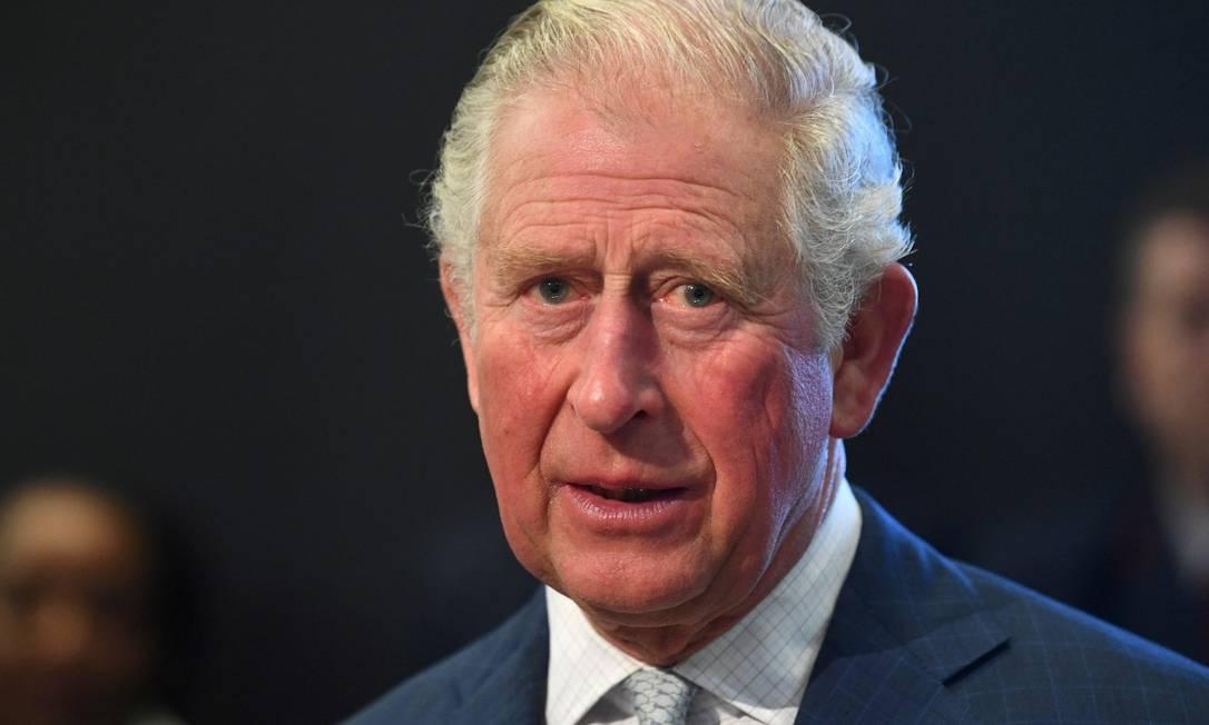 Príncipe Charles, durante visita ao Museu do Transporte de Londres Foto: POOL New / REUTERS