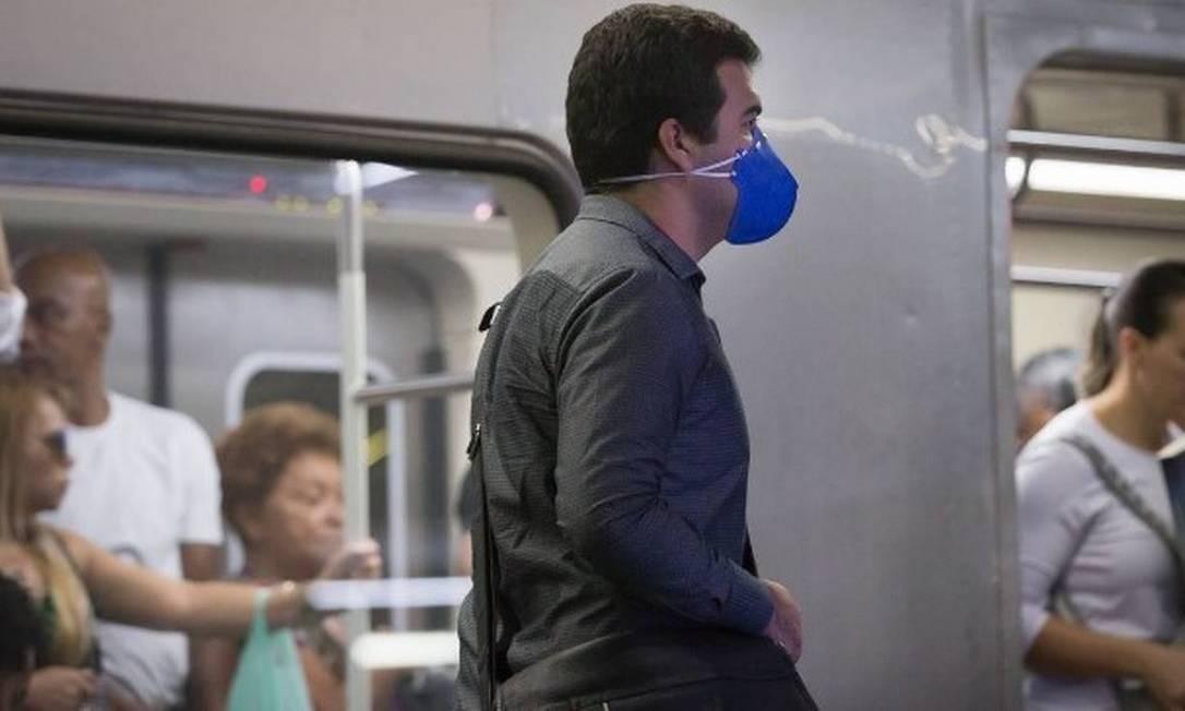 Governo estuda alteração no funcionamento do Metrô durante surto do coronavírus Foto: Edilson Dantas