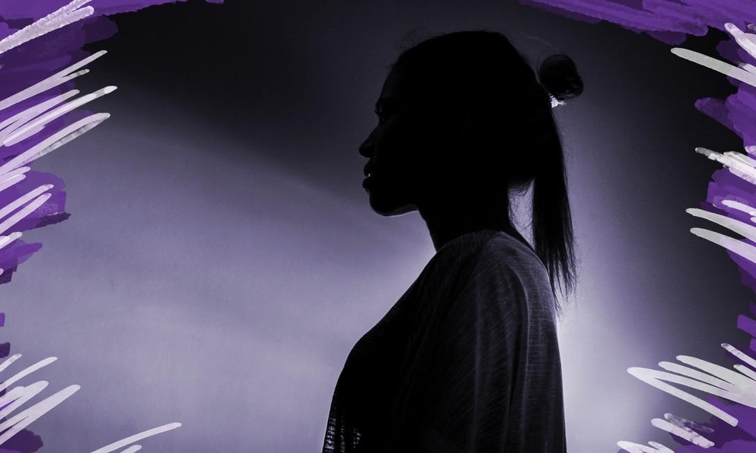 Tráfico internacional de pessoas para fim de exploração sexual. Na foto, Carina (nome ficticio), foi traficada para a Europa e Caribe Foto: Arte sobre foto de Edilson Dantas/Agência O Globo