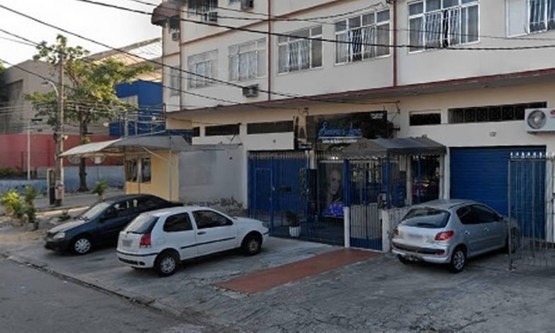 A rua onde o roubo ocorreu Foto: Reprodução