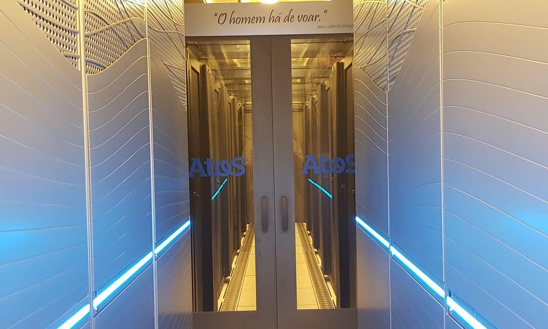 O Santos Dumont é o supercomputador mais potente da América Latina Foto: Sergio Matsuura