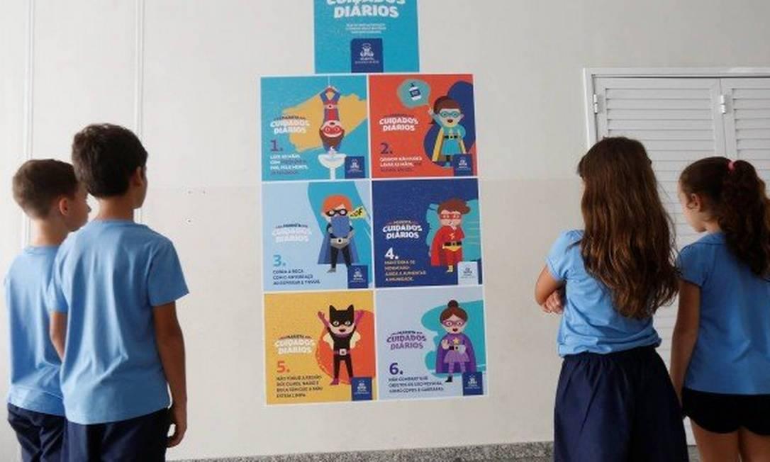 Escolas podem ser obrigadas a reduzirem valor das mensalidades enquanto aulas estiverem suspensas Foto: Guilherme Pinto/11-03-2020