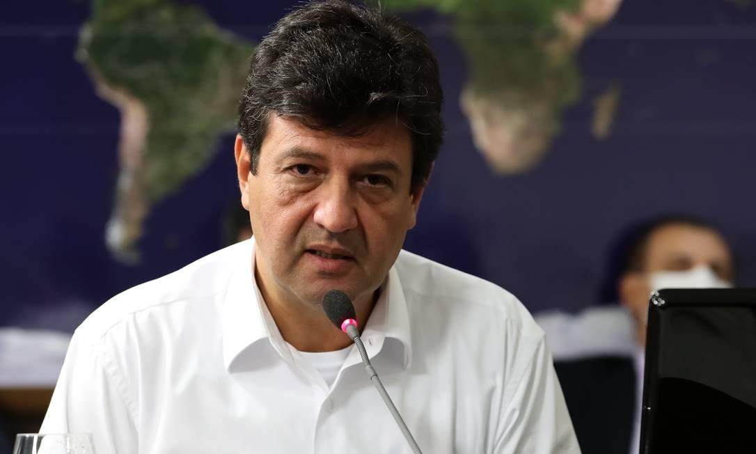 O ministro da Saúde, Luiz Henrique Mandetta Foto: Marcos Corrêa/PR