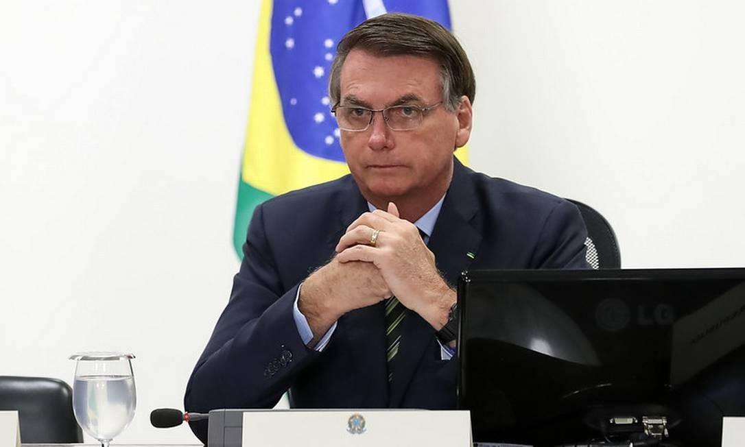 O presidente Jair Bolsonaro 25/03/2020 Foto: Divulgação
