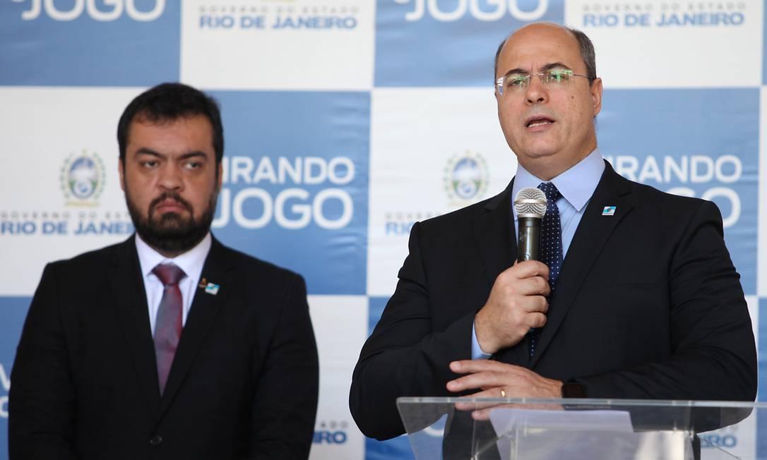 Nas mãos da União: Witzel faz pacote com 30 ações para conseguir R$ 27 bi e enfrentar coronavírus no Rio Foto: Eliane Carvalho/DiVULGAÇÃO / Agência O Globo