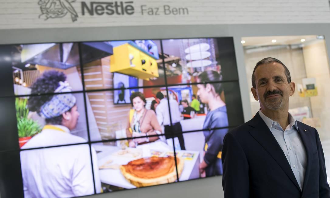 O presidente da Nestlé, Marcelo Melchior, afirma que o setor de alimentos e bebidas continua funcionando para evitar desabastecimento Foto: Divulgação