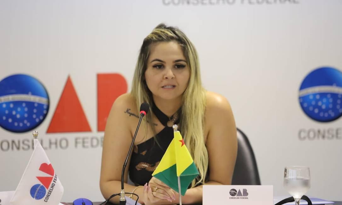Isabela Fernandes está internada numa Unidade de Terapia Intensiva (UTI) desde segunda-feira Foto: Divulgação/OAB