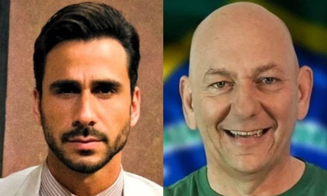 Julio Rocha e Luciano Hang Foto: Reprodução