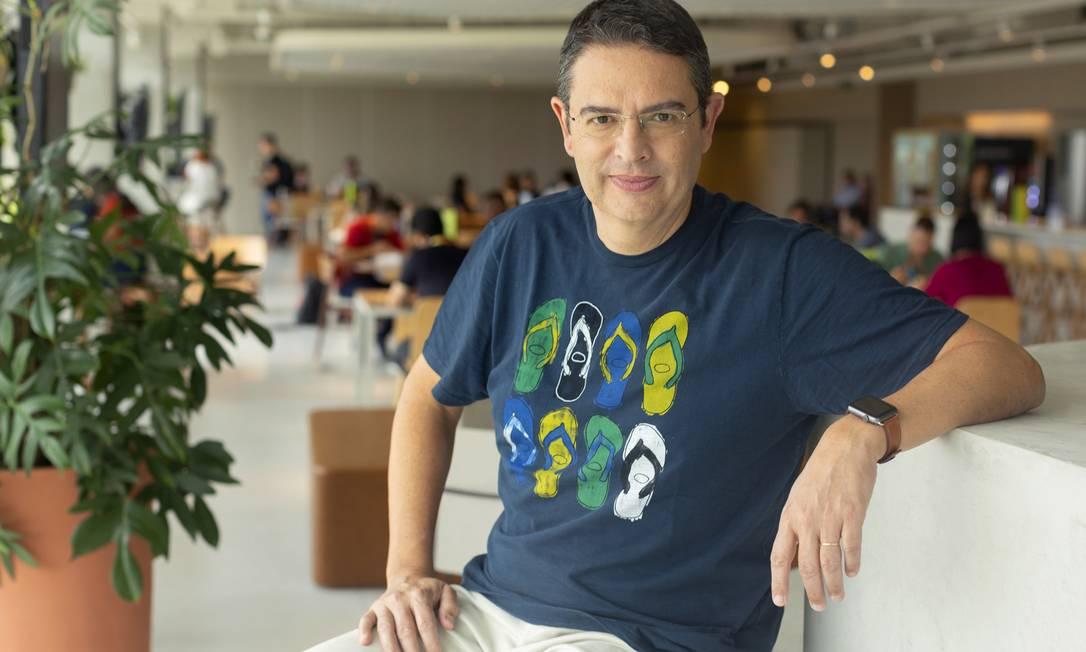 Roberto Funari, presidente da Alpargatas Foto: ©OTAVIO DIAS / Divulgação