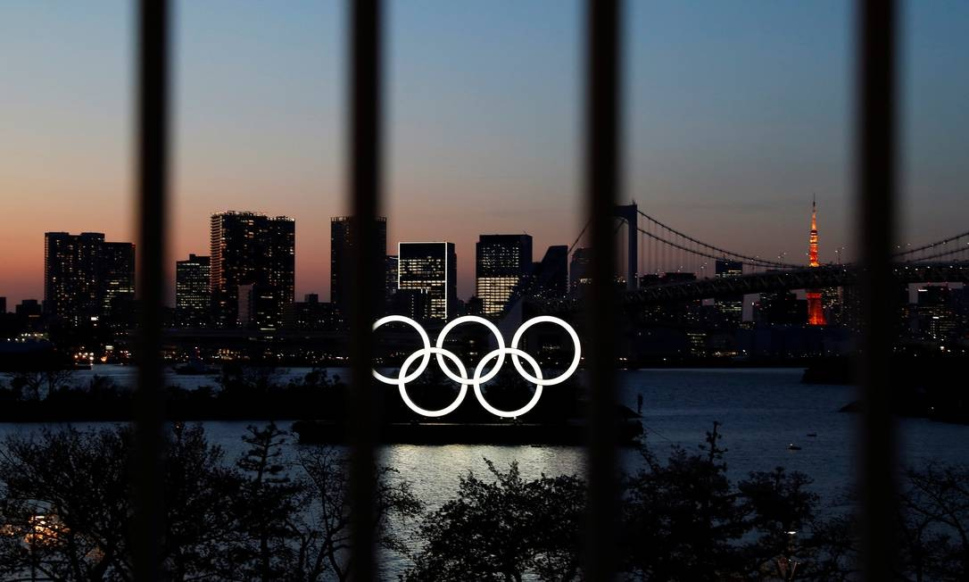 Os Jogos Olímpicos de Tóquio 2020 foram adiados para 2021 por causa da pandemia do coronavírus Foto: ISSEI KATO / REUTERS
