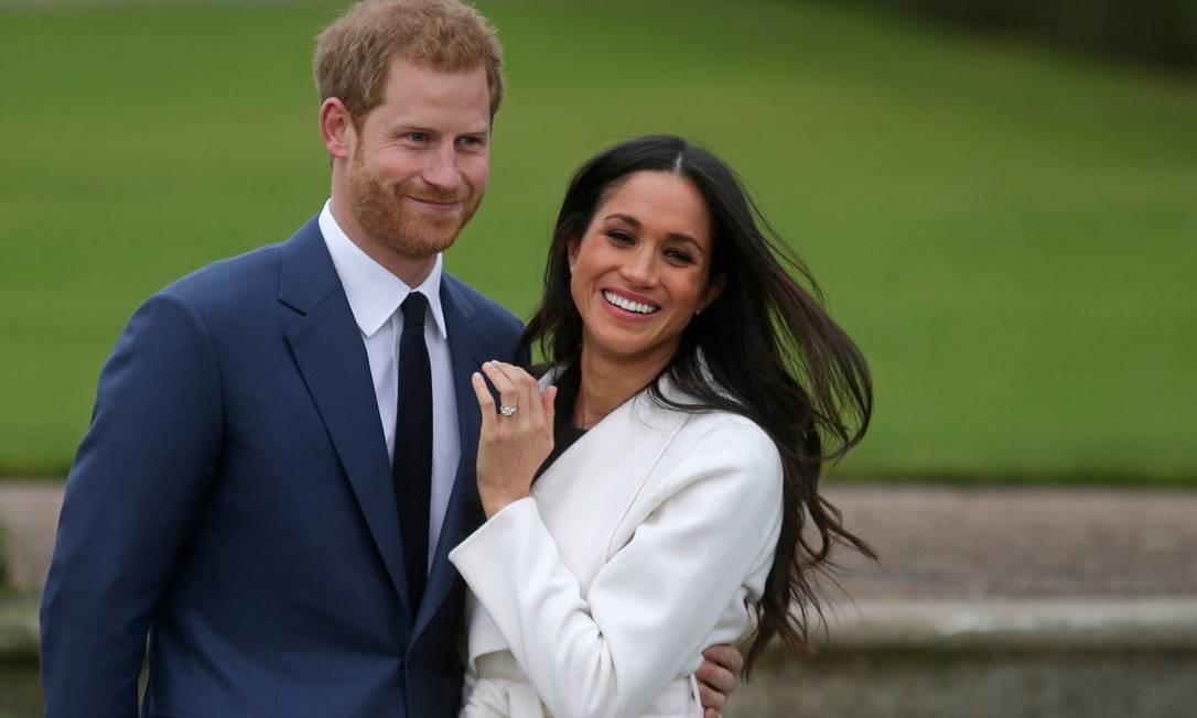 Príncipe Harry e Meghan Markle Foto: DANIEL LEAL-OLIVAS / AFP