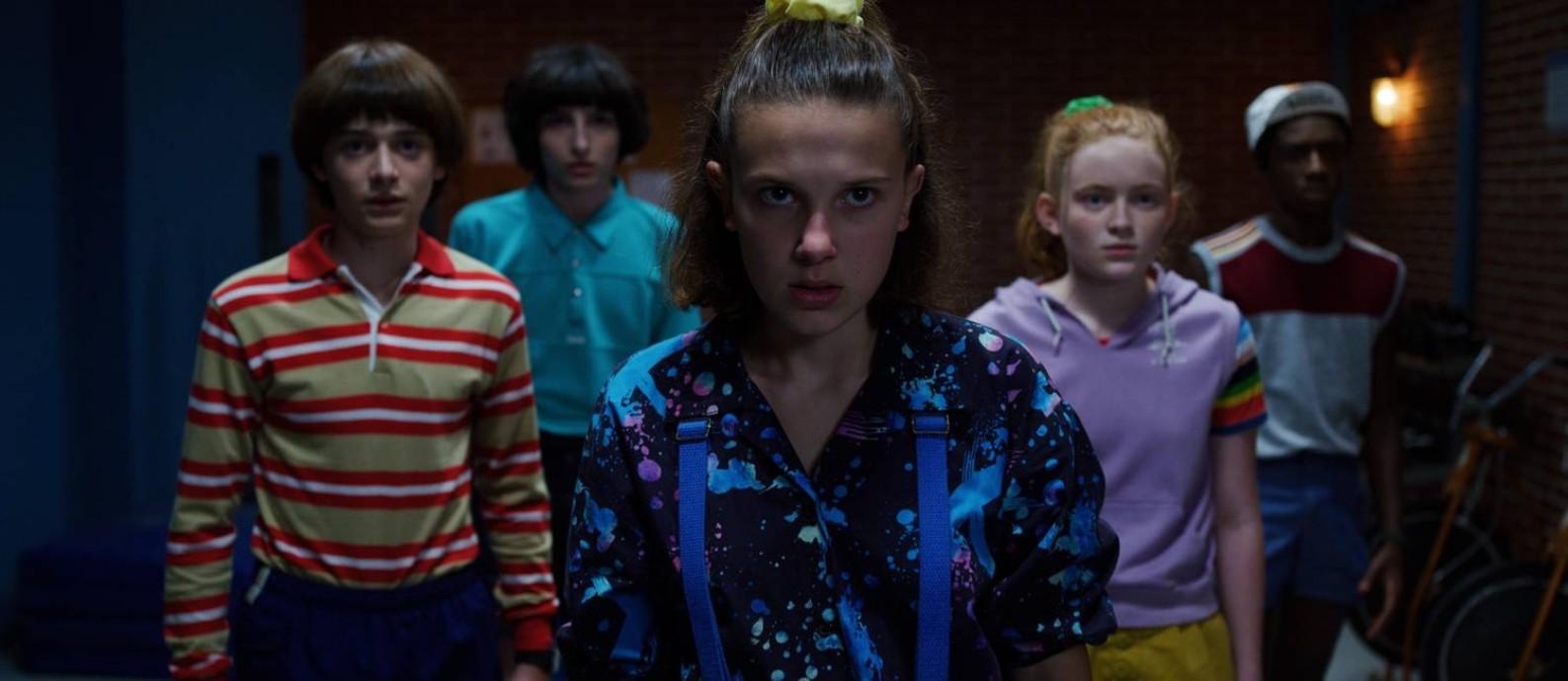 'Stranger things': quarta temporada teve gravações interrompidas com coronavírus; segundo o ator David Harbour, estreia no começo de 2021 deve ser adiada Foto: Netflix / Courtesy of Netflix