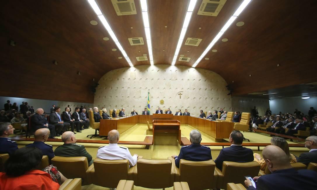 O STF deve decidir sobre a MP do trabalho Foto: Jorge William / Agência O Globo