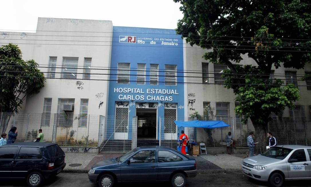 Hospital estadual Carlos Chagas é uma das unidades com problema de pagamentos Foto: Wania Corredo / O Globo - 23.01.2008