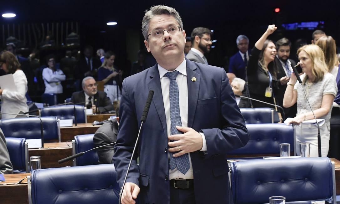 Senador Alessandro Vieira (Cidadania-SE) Foto: Waldemir Barreto / Waldemir Barreto/Agência Senado