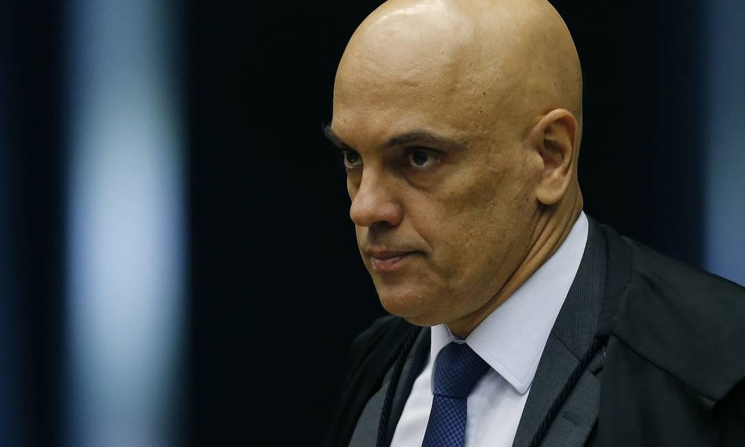 Ministro Alexandre de Moraes Foto: Jorge William / Agência O Globo