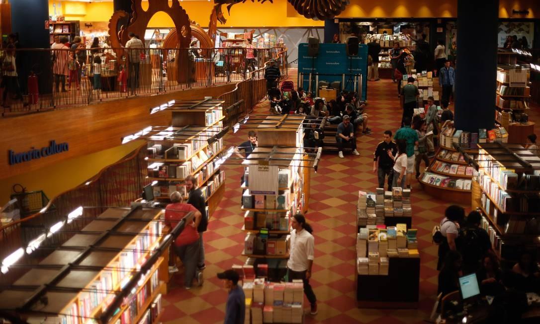 Livraria Cultura do Conjunto Nacional, na Avenida Paulista Foto: Marcos Alves / Agência O Globo