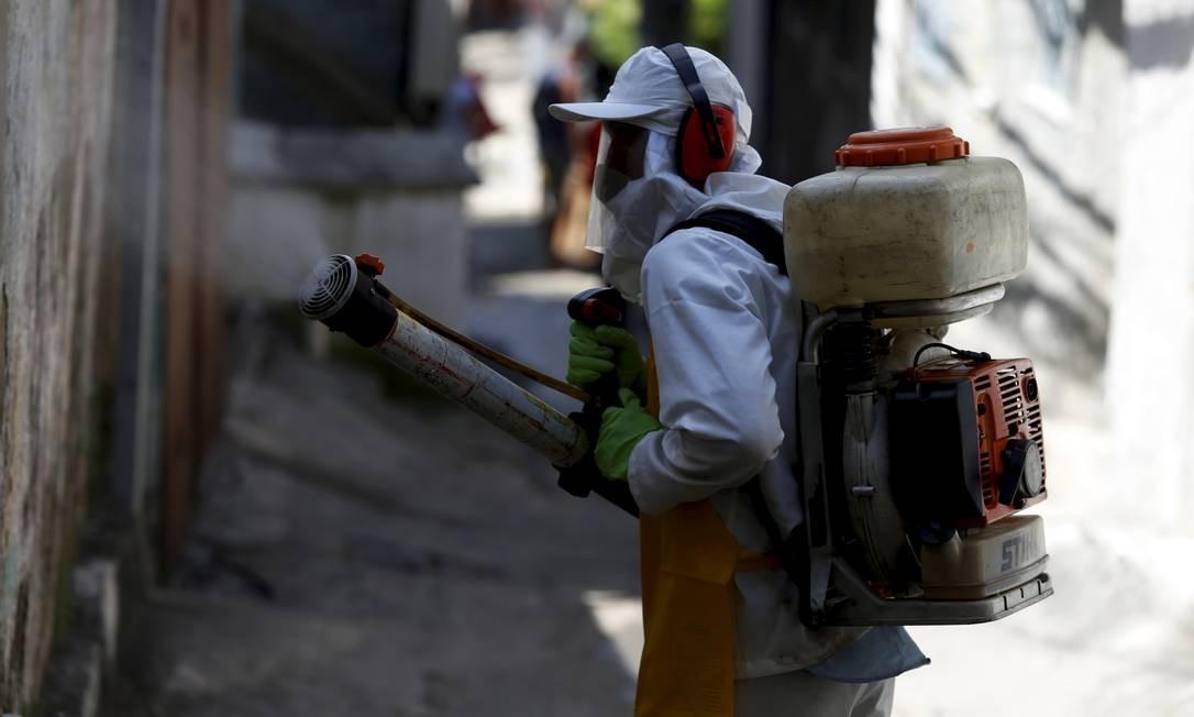 A comunidade Vila Ipiranga, no Fonseca, foi a primeira favela da cidade a passar pelo processo de sanitização Foto: / Fabiano Rocha