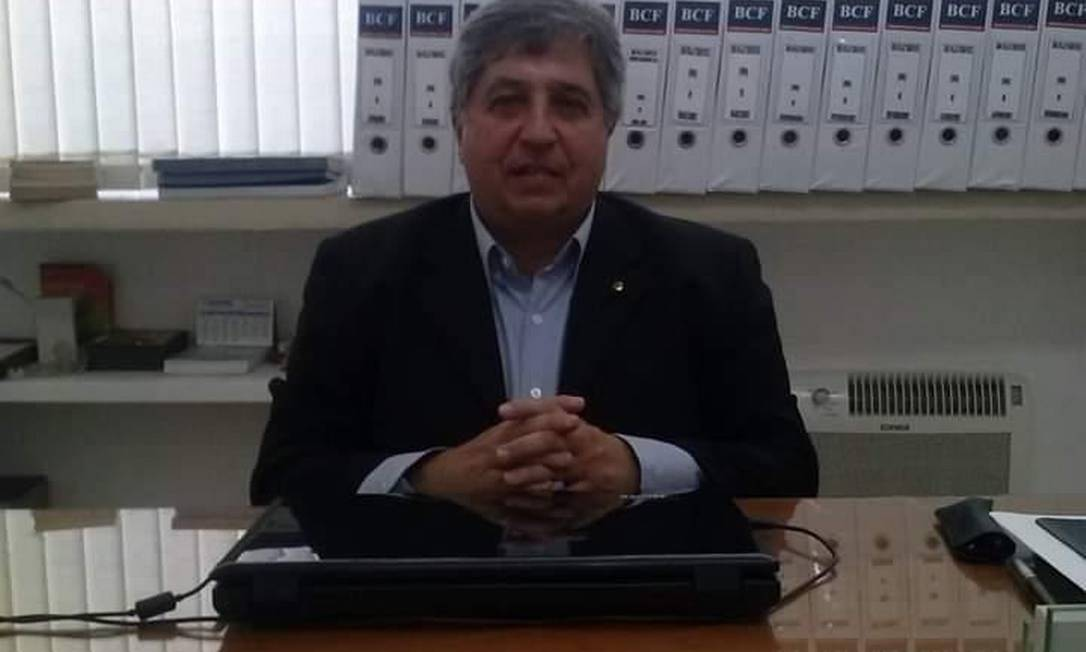 O administrador Jorge González Sebá, morto com suspeita de coronavírus Foto: Álbum de família