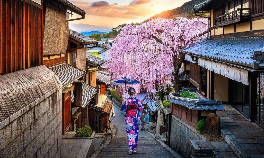 Imagem de uma cidade histórica japonesa Foto: tawatchaiprakobkit / Divulgação / Getty Images / iStockphoto