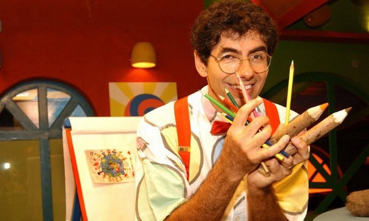 """Entre 2003 e 2005, desenhista esteve à frente da """"Turma do Lambe-Lambe"""" na TV Rá-Tim-Bum, da TV Cultura, e """"Azuela do Azulay"""", no Canal Futura Foto: Divulgação"""