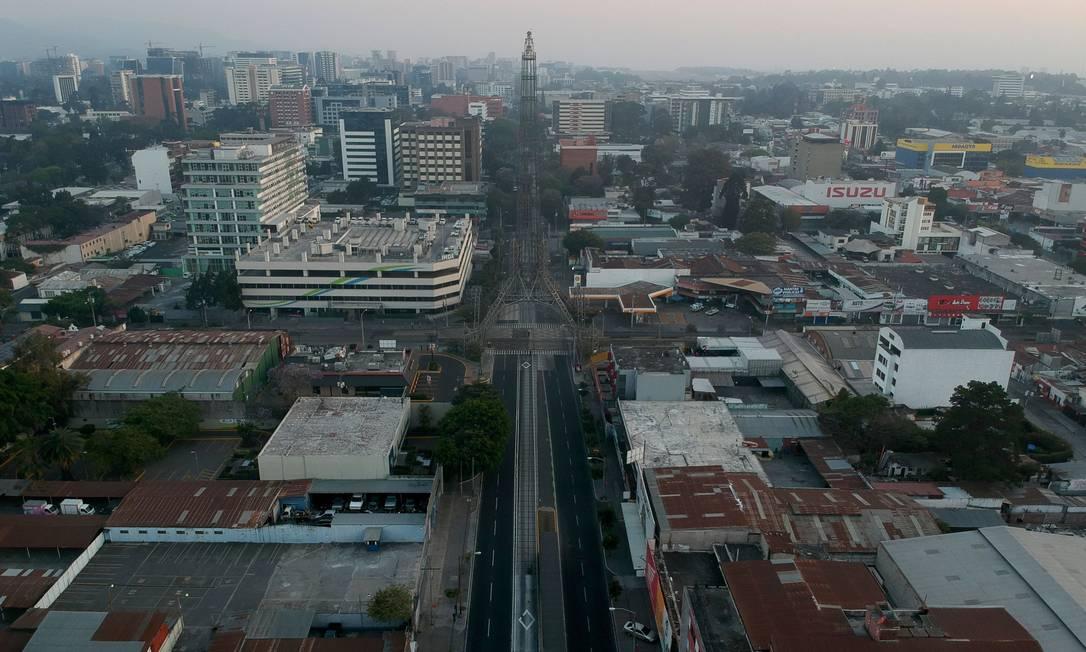 Torre del Reformador, na Guatemala Foto: CARLOS ALONZO / AFP