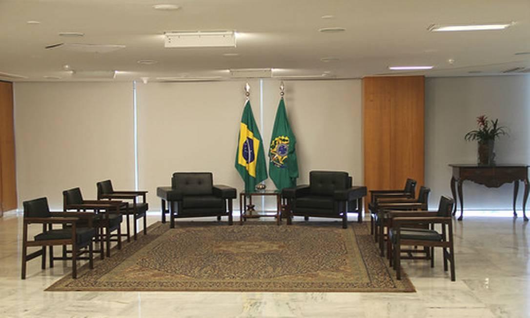 Interior do Palácio do Planalto Foto: Reprodução