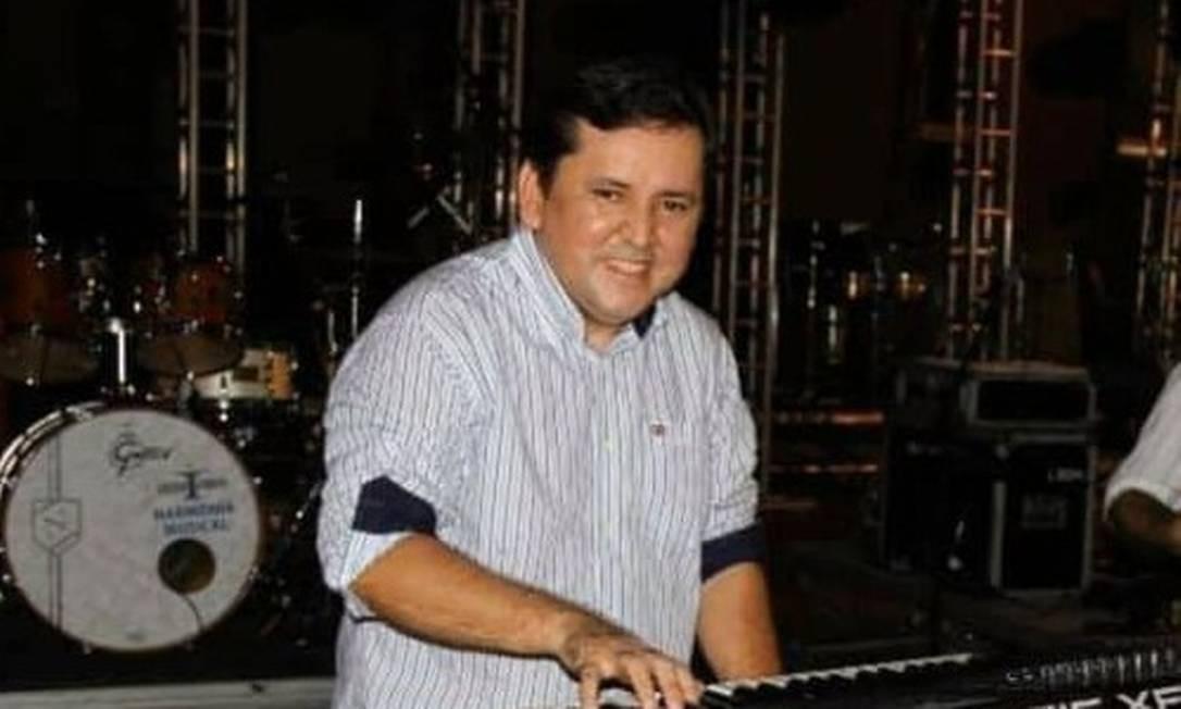 O músico Robson de Souza Lopes, o 'Binho', foi a segunda vítima da Covid-19, no Amazonas Foto: Divulgação