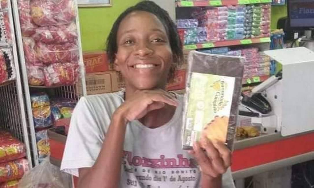 Cleuza, 32 anos: vendedora de doces deixa três filhos Foto: Reprodução