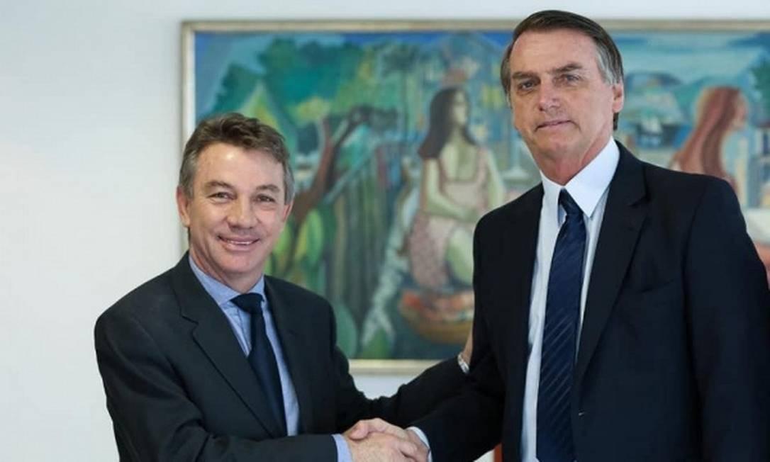 Antonio Denarium e Jair Bolsonaro Foto: Divulgação/PR