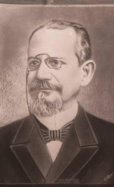 """O presidente Francisco Rodrigues Alves, morto pela gripe espanhola, em 1919. Eleito para um segundo mandato (havia governado de 1902 a 1906), Rodrigues Alves não tomou posse, no dia 15 de novembro de 1918, porque estava """"espanholado"""". Político morreu semanas depois, em janeiro de 1919 Foto:"""
