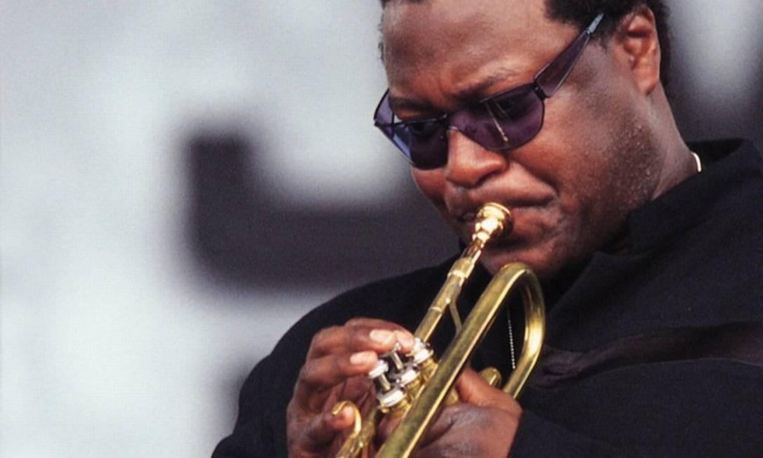 O trompetista Wallace Roney, em foto de 2006 Foto: Divulgação