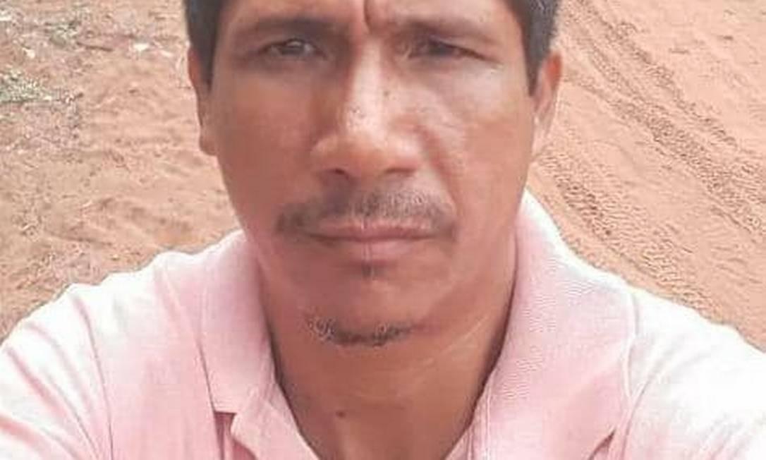 Zezico Rodrigues Guajajara foi encontrado morto em Arame, no interior do Maranhão Foto: Reprodução