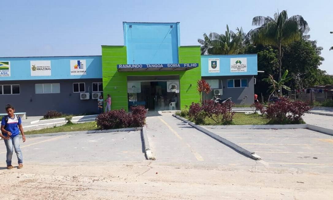 Unidade básica de saúde da área indígena aldeia de São José Foto: Divulgação
