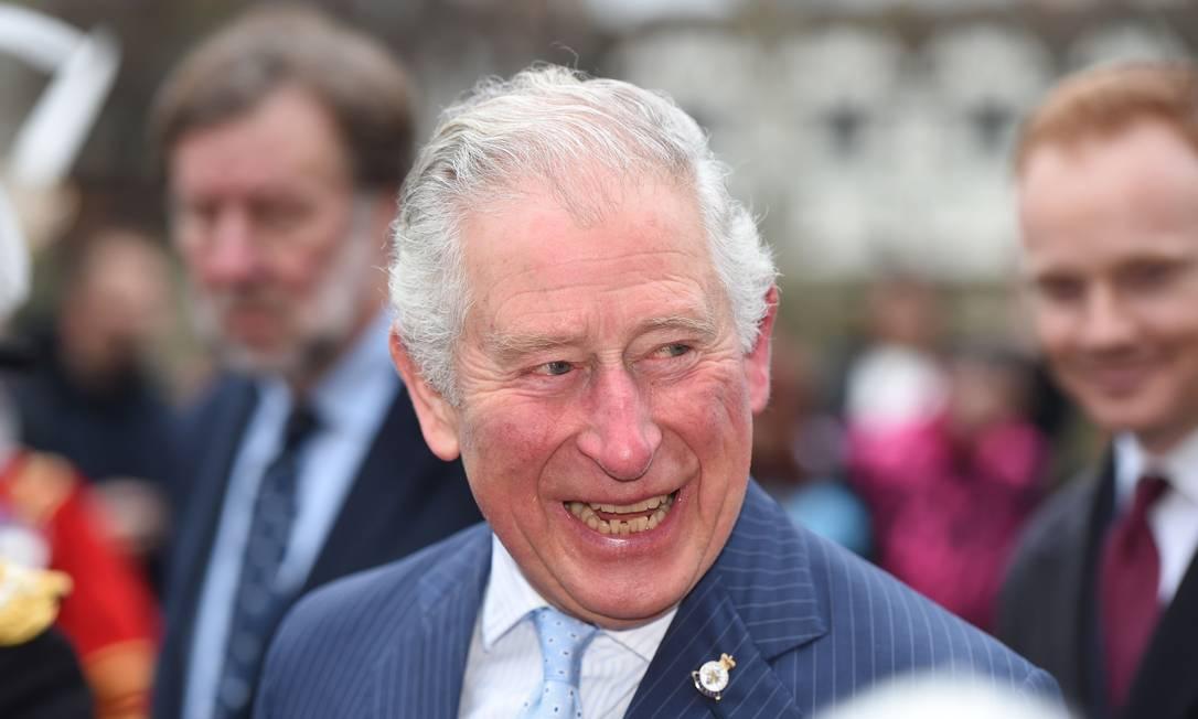 Príncipe Charles, herdeiro do trono britânico Foto: EDDIE MULHOLLAND / AFP