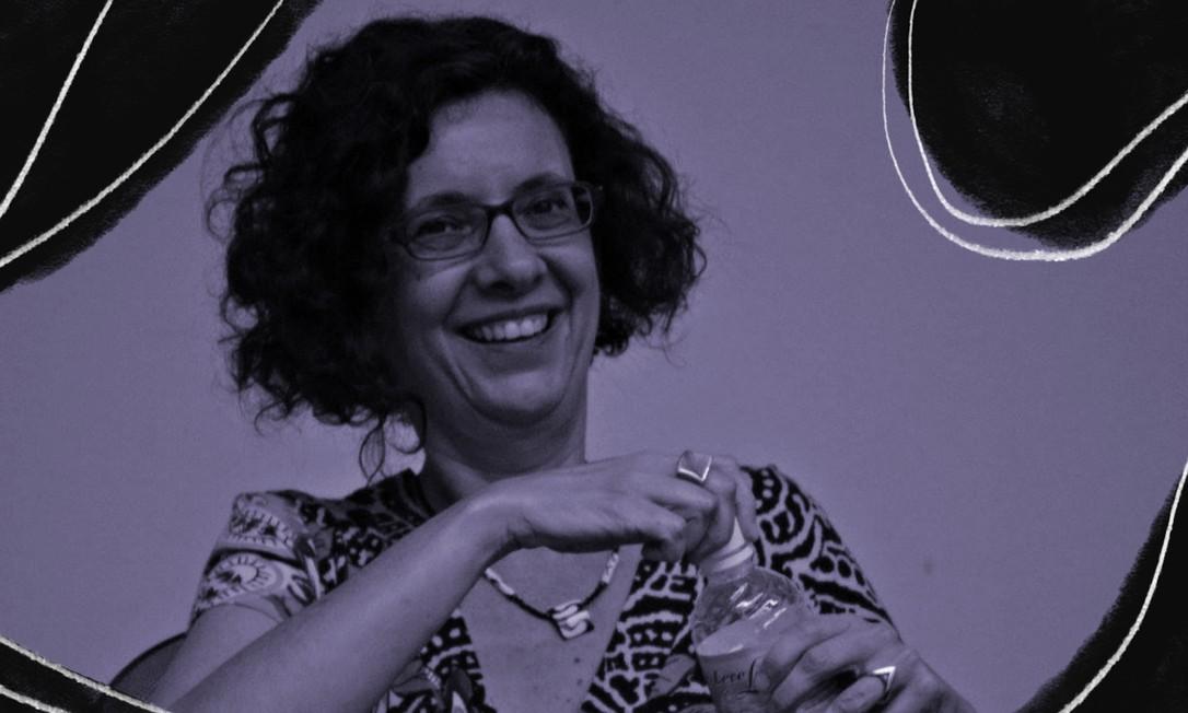 A antropóloga Heloisa Buarque de Almeida é professora na Universidade de São Paulo, onde faz faz parte do movimento feminista Rede Não Cala, e coordenadora do Comitê de Gênero e Sexualidade da Associação Brasileira de Antropologia Foto: Arte sobre foto de Raphael Teixeira