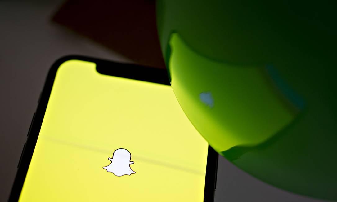 O Snapchat trabalha em parceria com a OMS para difundir informações corretas sobre como lidar com o novo coronavírus Foto: Daniel Acker / Bloomberg