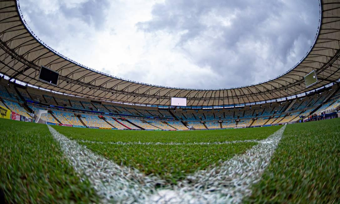 Maracanã sem jogos Foto: Divulgação Flamengo