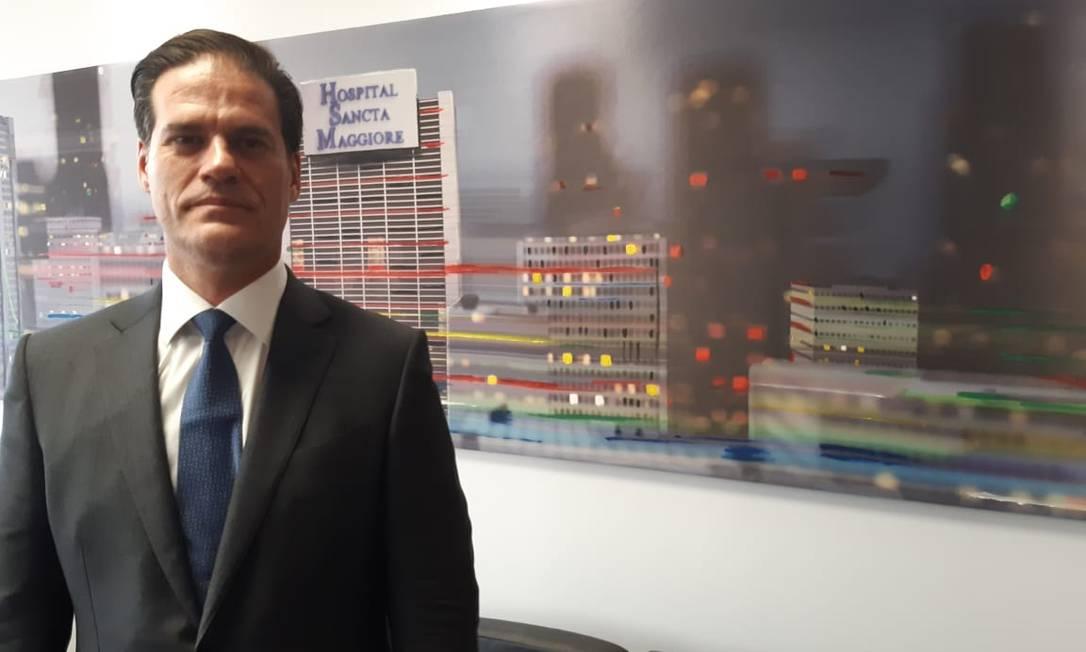 Fernando Parrilo, dono da Prevent Senior, rebateu críticas feitas pelo ministro da Saúde Foto: Leo Branco / Leo Branco