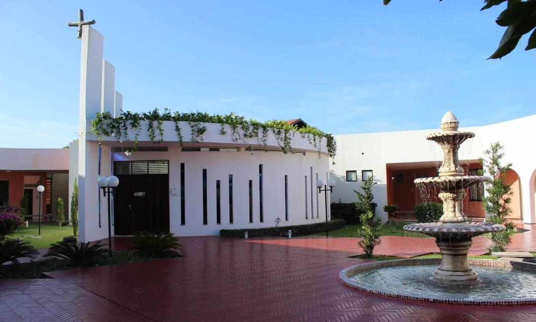 Capela da comunidade Shalom, em Aquiraz: 12 casos confirmados de coronavírus Foto: Reprodução