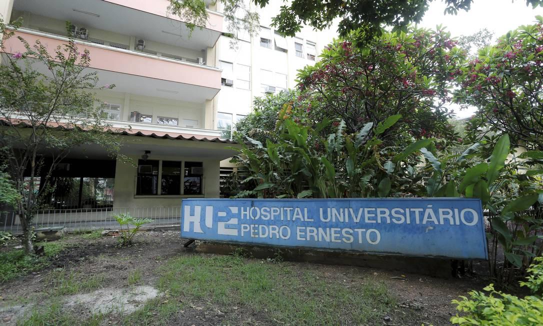 Campanhas lançadas pela internet ajudam o Hospital Pedro Ernesto, da Uerj Foto: Domingos Peixoto / Agência O Globo