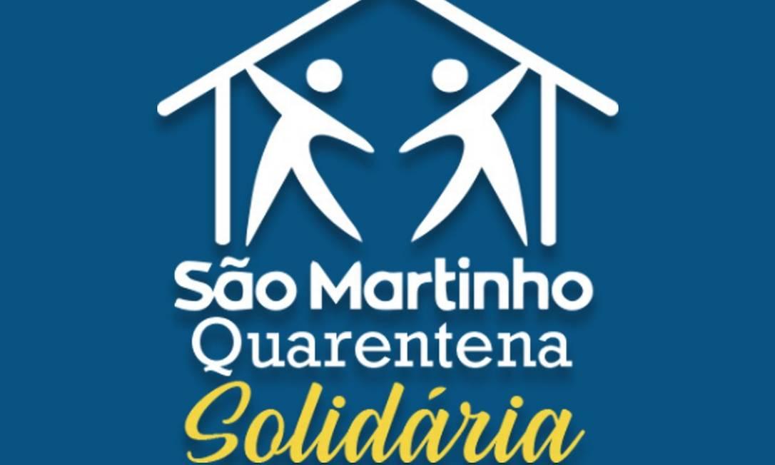 A campanha da Associação São Martinho Foto: Reprodução
